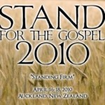 STAND for the gospel 2010 this weekend