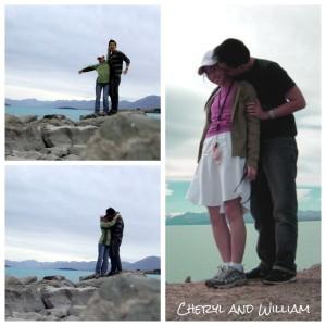 William and Cheryl collage - tekapo 2010