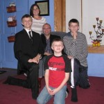 The Gilles family and worship