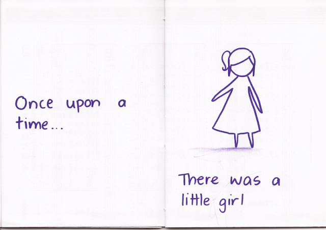Once upon a time... there was a little girl