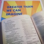 Greater Than We Can Imagine – Praise & Prayer 2018 – Set List
